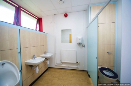 Washroom refurbishments