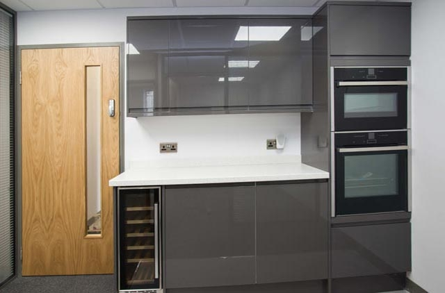 Office refurbishment company transforms kitchen at Relish Dartford