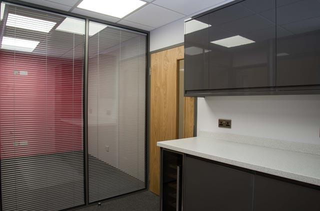 Office refurbishment company transforms office at Relish in Dartford Kent