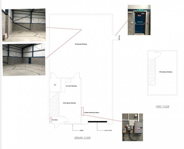 Existing drawing office fit out Kent