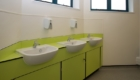 School washrooms vanity unit