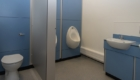 School urinals washroom refurbishment