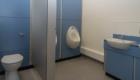 School urinals washroom refurbishment