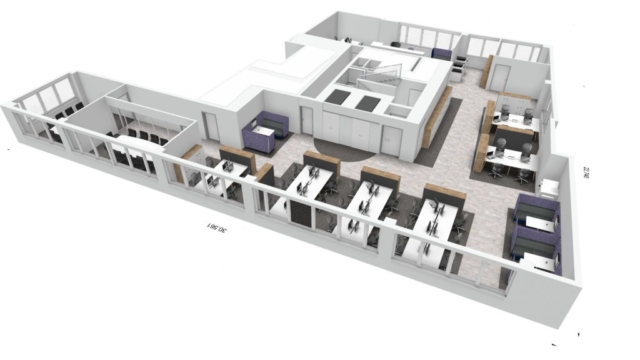 Office Interior  Design and Space Planning