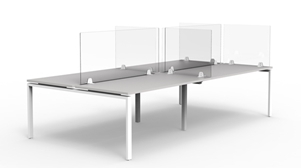 Acrylic Screen Dividers full height