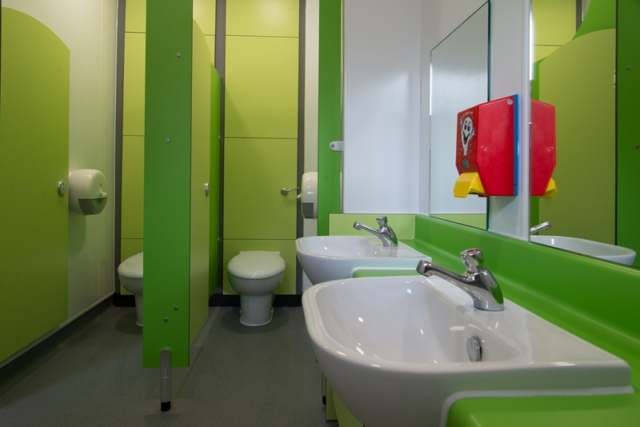 School washroom refurbishment