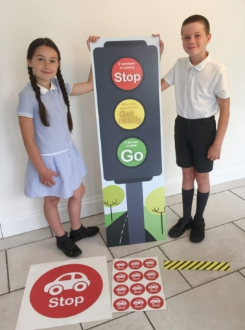 traffic light kit for school corridors