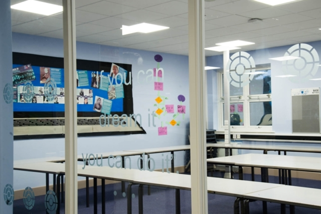 school partitioning