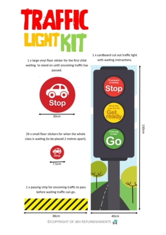 Taffic Lights Kit details